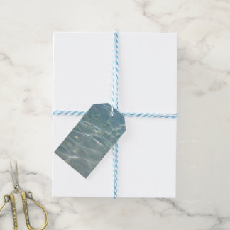 Caribbean Water Abstract Blue Nature Gift Tags