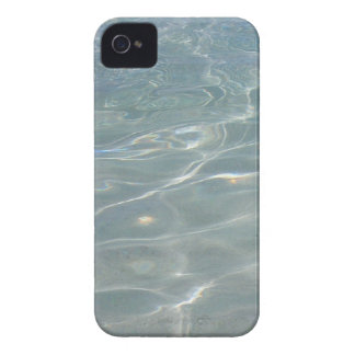 Caribbean Water Abstract Blue Nature iPhone 4 Cover
