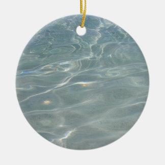 Caribbean Water Ornament