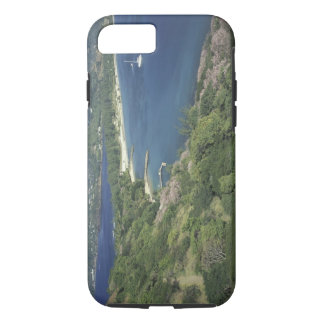 Caribbean, West Indies, St. Lucia. View of iPhone 8/7 Case