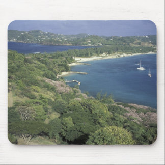 Caribbean, West Indies, St. Lucia. View of Mouse Mat