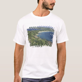 Caribbean, West Indies, St. Lucia. View of T-Shirt