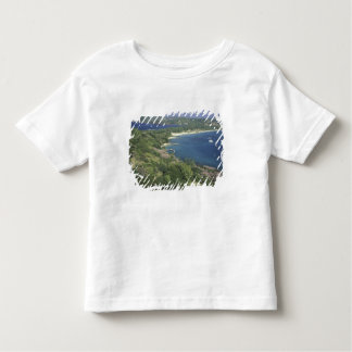 Caribbean, West Indies, St. Lucia. View of T Shirt