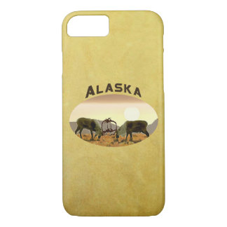 Caribou Duel - Alaska iPhone 7 Case