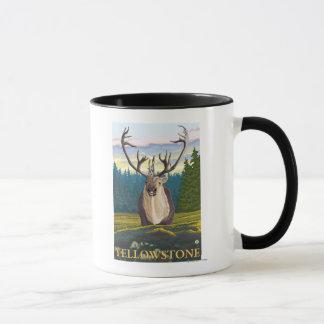 Caribou in the Wild - Yellowstone National Mug