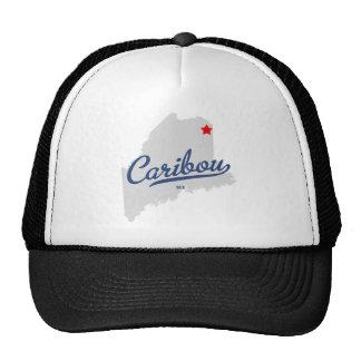 Caribou Maine ME Shirt Cap