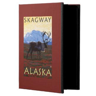 Caribou Scene - Skagway, Alaska iPad Air Case