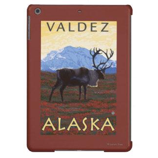 Caribou Scene - Valdez, Alaska iPad Air Case