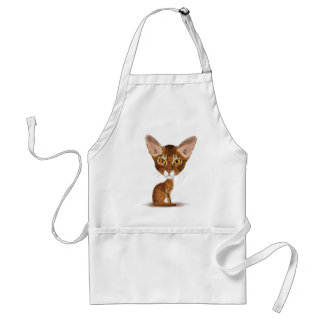 Caricature Abyssinian Apron