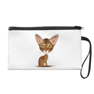 Caricature Abyssinian Wristlets