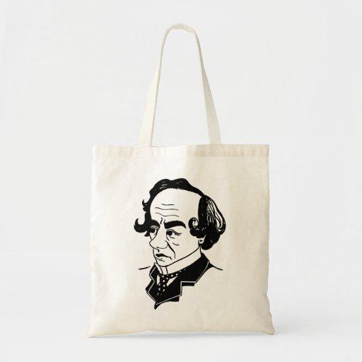 Caricature Benjamin Disraeli Bags