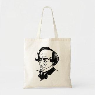 Caricature Benjamin Disraeli Budget Tote Bag