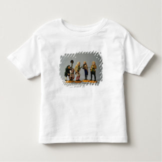 Caricature figurines of musicians toddler T-Shirt
