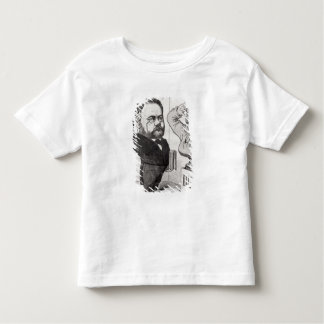Caricature of Emile Zola Toddler T-Shirt