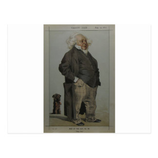 Caricature of Henry Cole by James Tissot Postcard