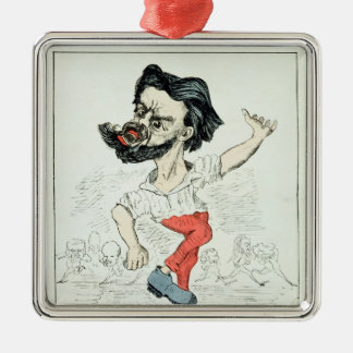 Caricature of Jules Valles Christmas Ornament
