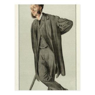 Caricature of Matthew Arnold by James Tissot Postcard