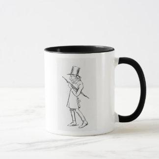Caricature of Soren Aabye Kierkegaard Mug