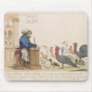 Caricature of the Assembly of Notables Mouse Pad