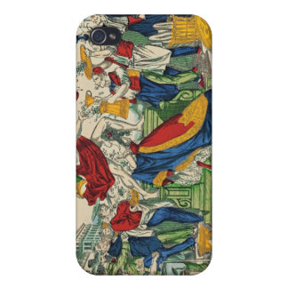 Caricature of the Demon of Money, 1860 iPhone 4/4S Covers