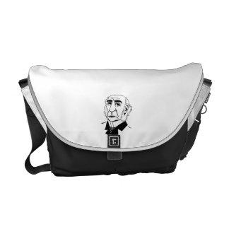 Caricature William Gladstone Courier Bags