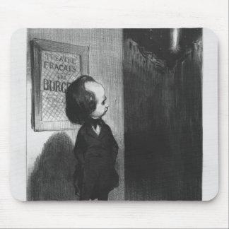 'Caricatures du jour', caricature of Victor Hugo Mouse Mat