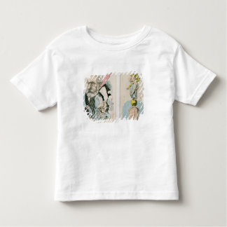 Caricatures of Victor Hugo  and Napoleon III Toddler T-Shirt
