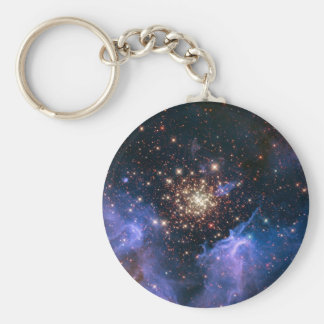 Carina cluster of  golden stars key chains