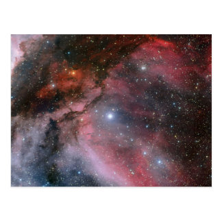 Carina Nebula around the Wolf–Rayet star WR 22 Postcard