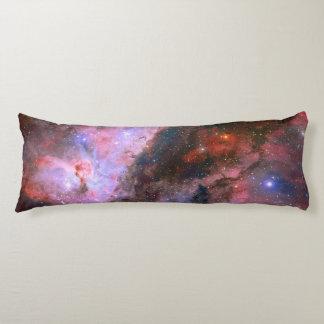 Carina Nebula, breathtaking universe astronomy Body Cushion