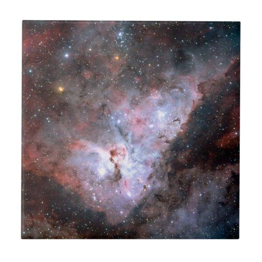 Carina Nebula by ESO Small Square Tile