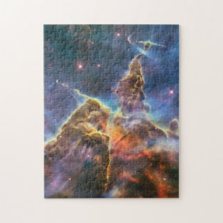 Carina Nebula by the Hubble Space Telescope Puzzles