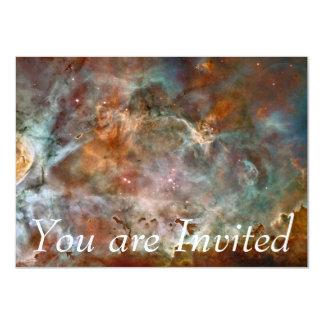 Carina Nebula Dark Clouds 11 Cm X 16 Cm Invitation Card