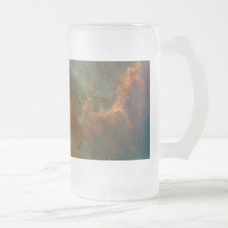 Carina Nebula Detail Glass Beer Mugs