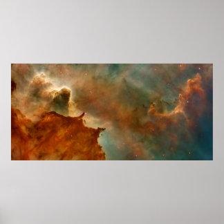 Carina Nebula Detail Poster