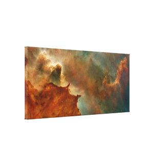 Carina Nebula Detail Stretched Canvas Print