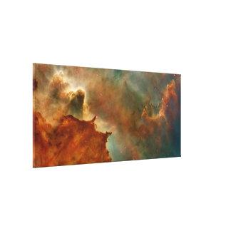 Carina Nebula Detail Stretched Canvas Prints