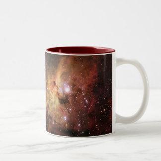 Carina Nebula Eta Carinae Two-Tone Coffee Mug