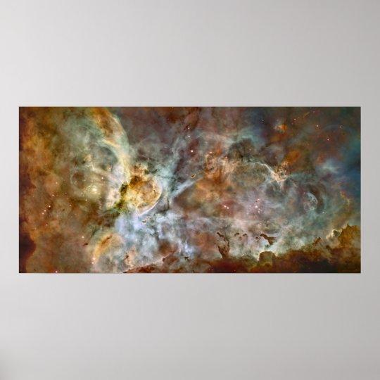 Carina Nebula Extreme 78x38 (99x48) Poster
