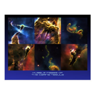 Carina Nebula feature close-ups Postcard