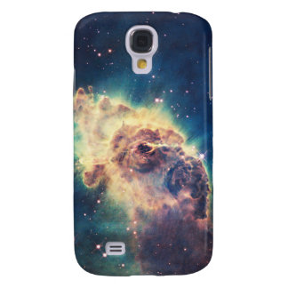 Carina Nebula from Hubble's Wide Field Camera Galaxy S4 Case