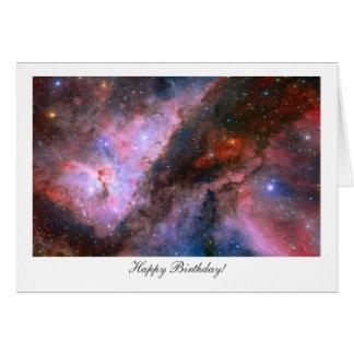 Carina Nebula - Happy Birthday Greeting Cards