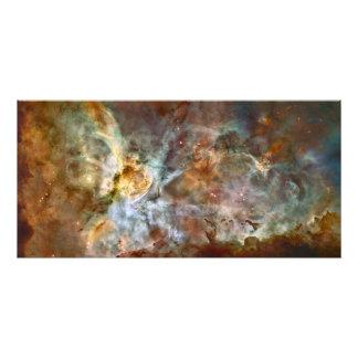 Carina Nebula Hubble Space Photo Print
