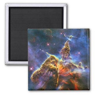 Carina Nebula (Hubble Telescope) Square Magnet