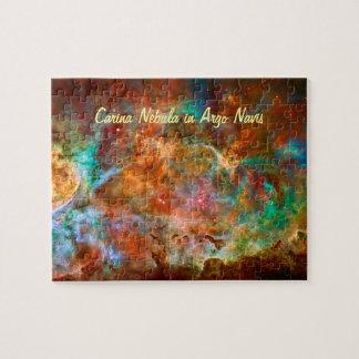 Carina Nebula in Argo Navis constellation Jigsaw Puzzle