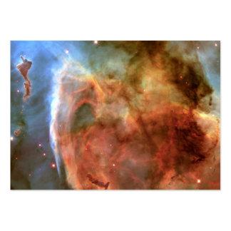 Carina Nebula Keyhole Detail Space Business Card Template