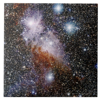 Carina Nebula Large Square Tile