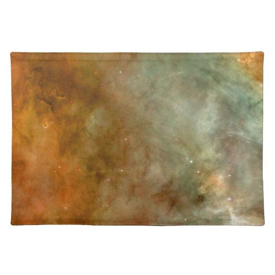Carina Nebula Marble Look NASA Placemats