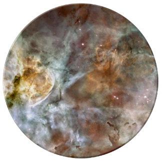 Carina Nebula Porcelain Plate
