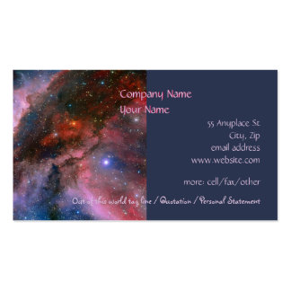 Carina Nebula - Our Breathtaking Universe Double-Sided Standard Business Cards (Pack Of 100)